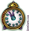 Vector Clip Art picture  of an alarm clock