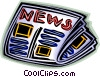 newspaper Vector Clipart picture
