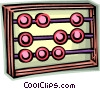 Abacus Vector Clipart illustration