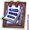 Vector Clip Art picture  of a Calendars