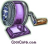 Pencil Sharpeners Vector Clipart image