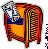 Letter and mailbox Vector Clip Art picture