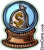 financial concept Vector Clipart illustration