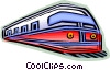 Trains Locomotives Vector Clipart graphic
