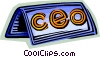 Nameplates Vector Clipart picture