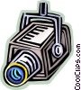 Video Surveillance Vector Clip Art picture