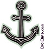 Vector Clip Art graphic  of an Anchors