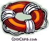 Life Vests and Preservers Vector Clipart picture