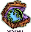 Vector Clipart illustration  of a Planet Earth