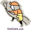 Vector Clipart image  of a Firemen