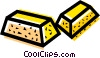 Vector Clipart graphic  of a gold bars