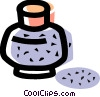 Vector Clipart graphic  of a ink bottle