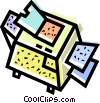 photocopier Vector Clip Art picture