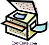 photocopier Vector Clipart picture