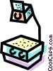 Vector Clip Art image  of a Overhead Projectors