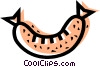 Sausage Vector Clipart image