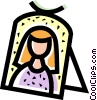 Wedding photo Vector Clip Art picture