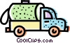 Transport Trucks Vector Clipart image