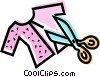 Seamstress Vector Clipart image