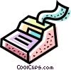 Vector Clipart illustration  of a cash register