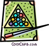 Pool table Vector Clip Art picture