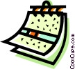 Vector Clipart illustration  of a Calendars