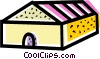 Vector Clip Art picture  of a Greenhouses