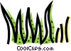 Grass Vector Clipart illustration