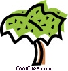Leaves Vector Clip Art image