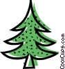 Vector Clipart image  of a Coniferous