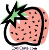 Vector Clipart picture  of a Strawberries