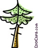 Vector Clipart illustration  of a Deciduous