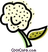 Vector Clip Art picture  of a Cauliflower