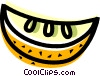 Sliced Orange Vector Clip Art picture