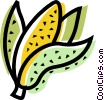 Vector Clip Art graphic  of a Bananas