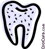 Vector Clip Art picture  of a Teeth and Oral Hygiene