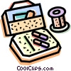 Vector Clipart illustration  of a Medicine and Prescriptions