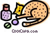 Veterinarian Vector Clipart illustration