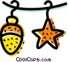 Vector Clipart graphic  of a Ornaments Decorations