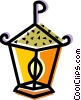 Vector Clipart graphic  of a Christmas lantern
