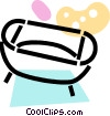Bathtubs Vector Clipart picture
