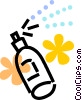 Vector Clipart picture  of a Hair Spray