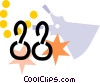 Earrings Vector Clip Art picture