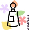 perfume Vector Clip Art graphic