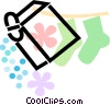 Vector Clipart picture  of a Laundry Soap