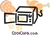 Grills and Cook Ovens Vector Clip Art picture