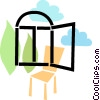 Vector Clipart picture  of a Windows