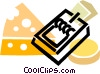 Mousetrap Vector Clipart picture