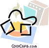 Electric Ovens Vector Clipart picture