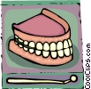 Vector Clipart illustration  of a Dentists and Patients